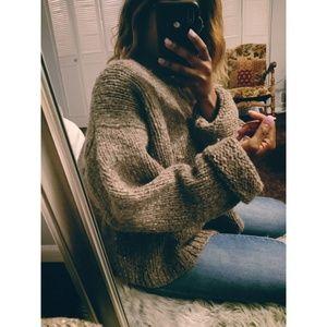 J.Crew Chunky Premium Wool Sweater